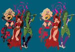 Marvel Girls - Flats