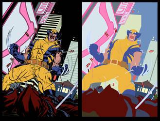 Wolverine Tokyo Cover - Flats by TrinityMathews