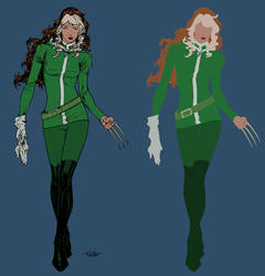 rogue by spiderguile-Flats by TrinityMathews