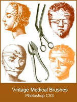 Vintage Medical Brushes by KingaBritschgi