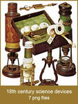 Vintage Science Devices pngs