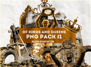 PNG PACK #1 - of kings and queens
