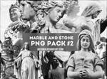 PNG PACK #2 - marble and stone