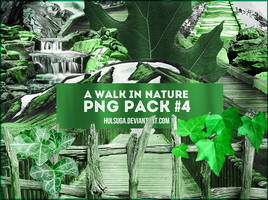 PNG PACK #4 - a walk in nature by hulsuga