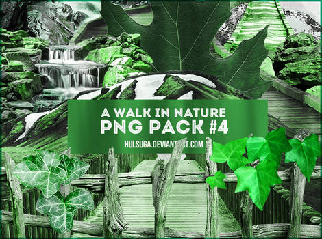 PNG PACK #4 - a walk in nature