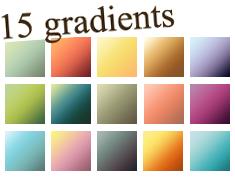 Gradients Set 06 by kiaharii