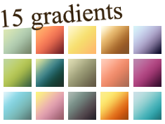 Gradients Set 06 by kiaharii