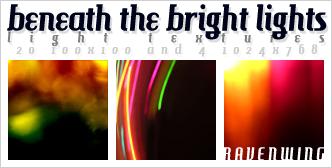 Light Textures 01 by kiaharii
