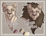 lion busts { free PSD base } [ Lioden ]