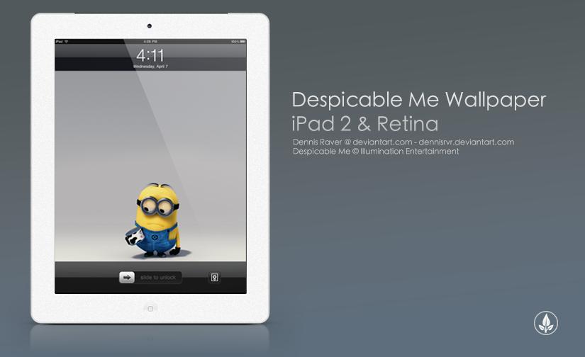 Despicable Me - iPad wallpaper by dennisRVR