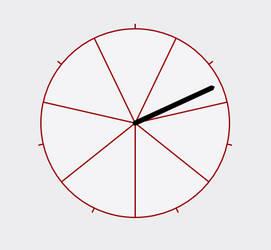Week Clock Prototype for Rainmeter by Charlatanic