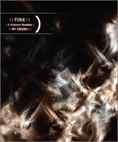 Fire Abstract Brushes by crushnl