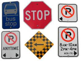 Pre-Cut Common Signs 001 by presterjohn1