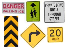 Pre-cut Common Signs 002 by presterjohn1