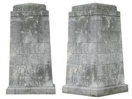 Pre-cut Obelisks 002 by presterjohn1