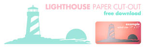 Free Lighthouse Printable