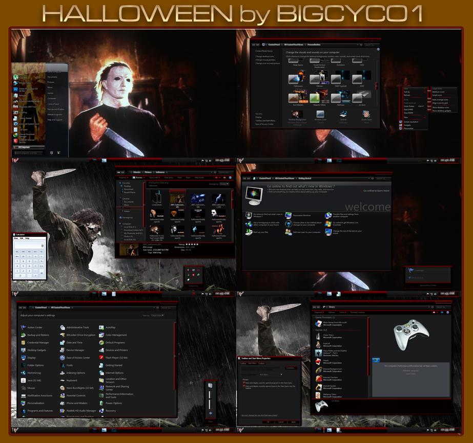 Halloween VS by bigcyco1