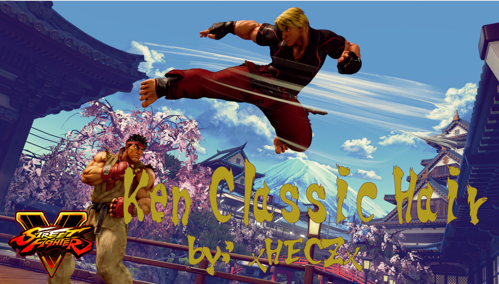 Ken SFV Classic Hair Updated For Season 2 by xHECZx on