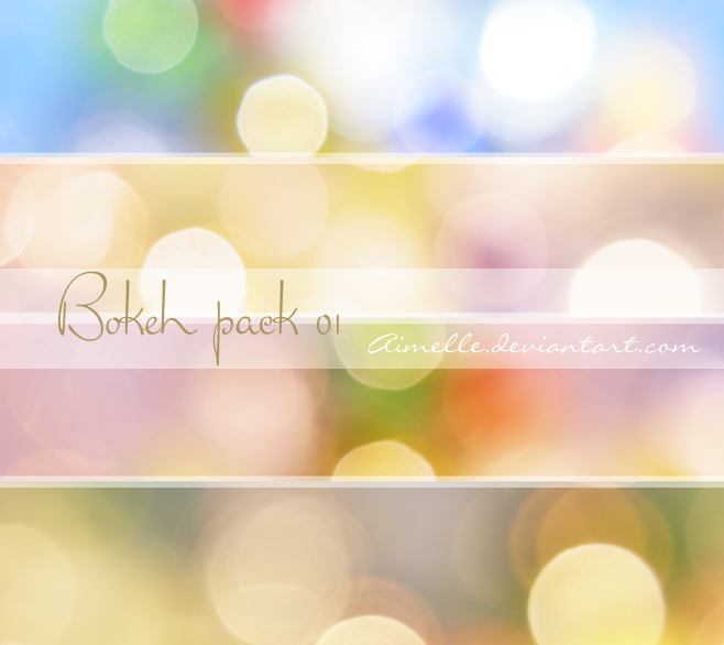Aimelle Bokeh_Pack_01 STOCK by Aimelle