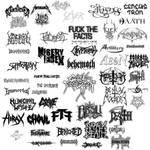 Metal Band Logo Brushes
