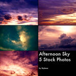 SkyStock - Afternoon Sky
