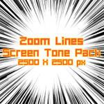 ZoomLine ScreenTone Pack 07 by Skybase