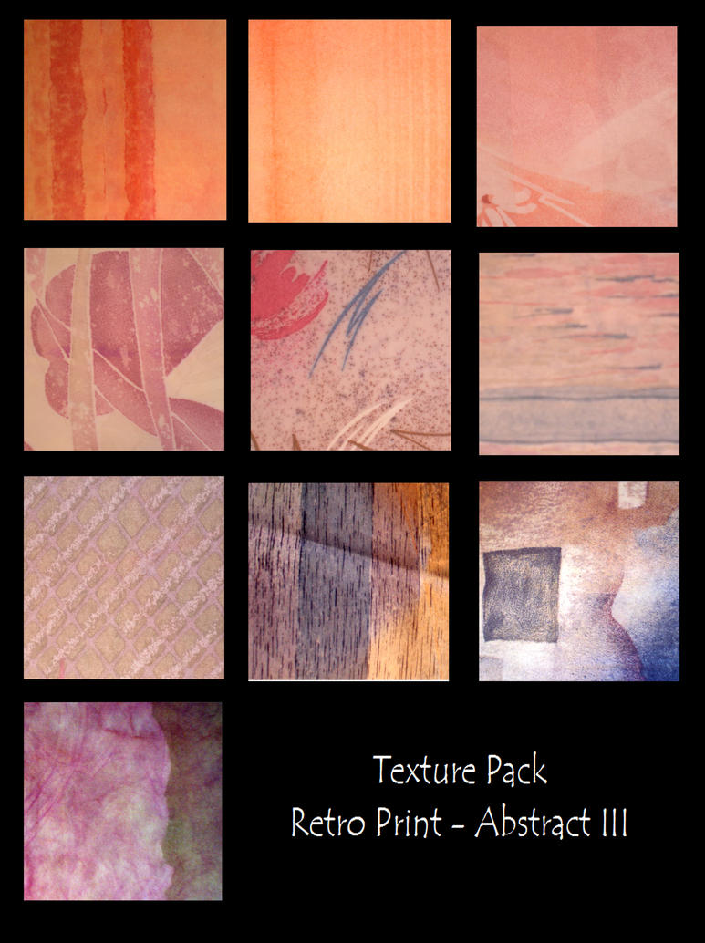 Texture Pack-RetroAbstract III by rockgem