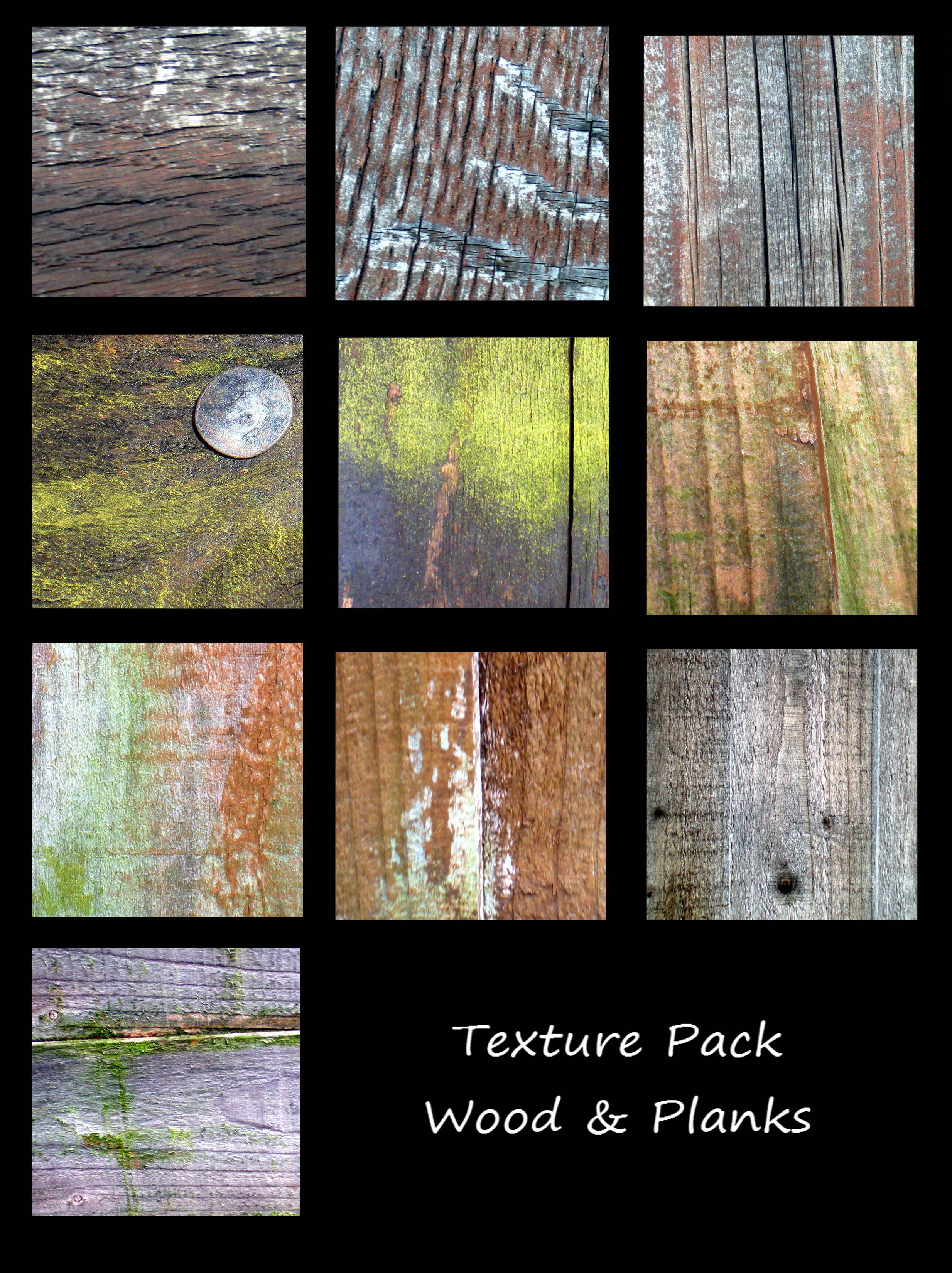 Texture Pack - Planks