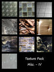 Texture Pack - Misc. IV