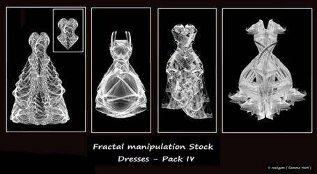Fractal Stock - Dress Pack IV