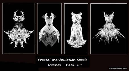 Fractal Stock- Dress Pack VIII by rockgem