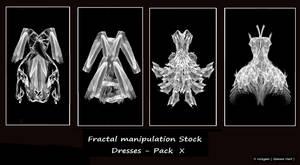 Fractal Stock- Dress Pack X