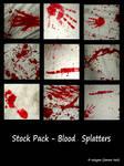 Stock Pack - Bloody Splatters