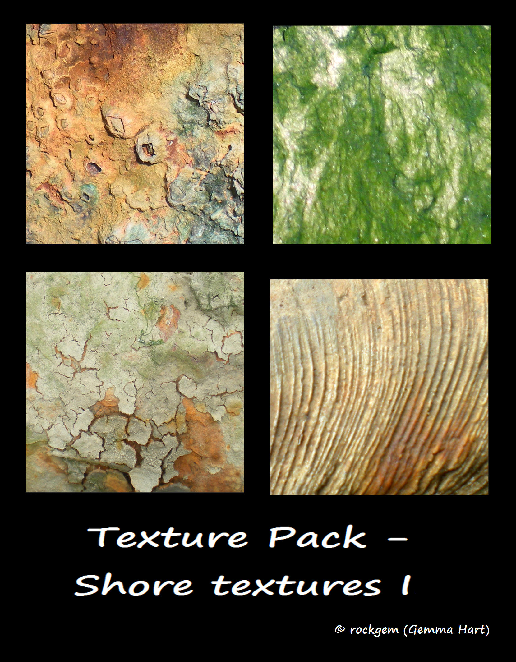 Texture Pack - Shore textures I by rockgem
