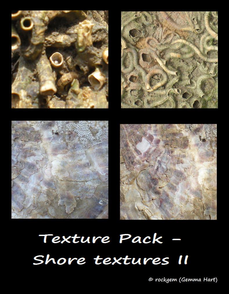 Texture Pack - Shore textures II by rockgem
