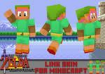 LTTP Link Minecraft Skin (texture in download!)