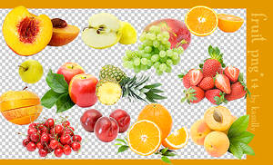 fruit png by kassilly