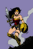 Wonder Woman by Yosarian13 - Flats by nocturnalgeek10