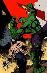 The Mountain vs The Hulk - Flats