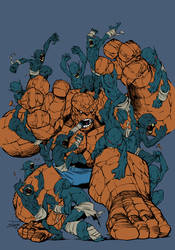 Thing vs Golems - Flats by Michael Angelo Arbon