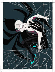 Spider Gwen - Flats by Michael Angelo Arbon