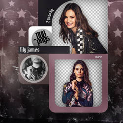 PACK PNG 845 // LILY JAMES by DUA-PNGS