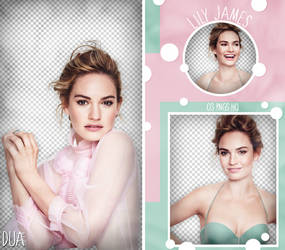 PACK PNG 960 // LILY JAMES by DUA-PNGS
