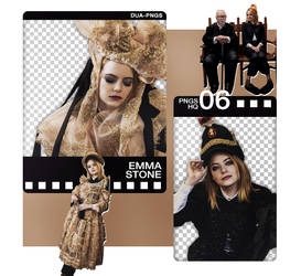 PACK PNG 1214 // EMMA STONE by DUA-PNGS