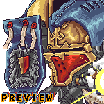 Pixel Imperial Knight