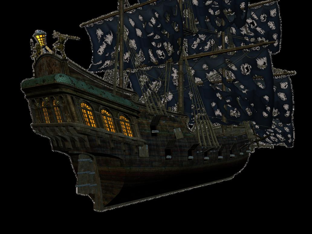 Pirate Ship Stock A-L by DarkRiderDLMC