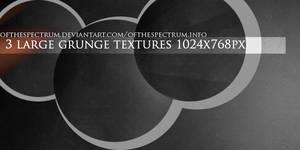 3 Large Grunge Textures