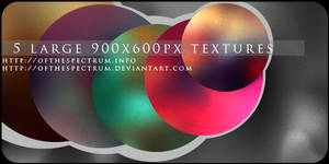 5 Large Colorful Textures