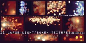 11 Large Bokeh/Light Textures