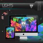 Wolfgun LIGHTS Desktop Background